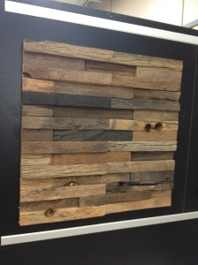 Horizontal Wood Tiles