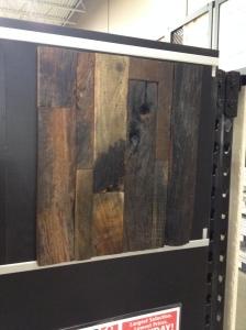 Vertical wider wood tile