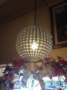 Ball Crystal Chandelier